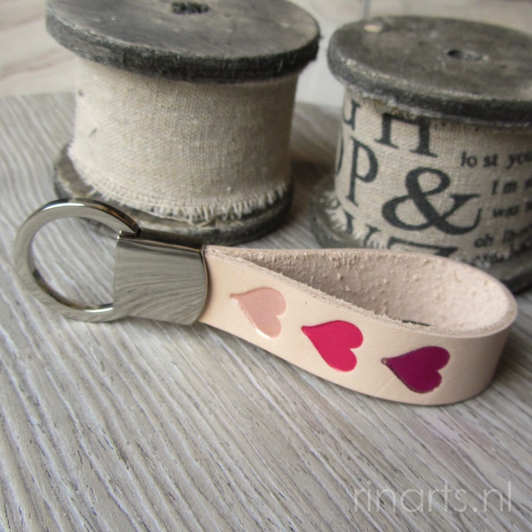 New keychains with hearts